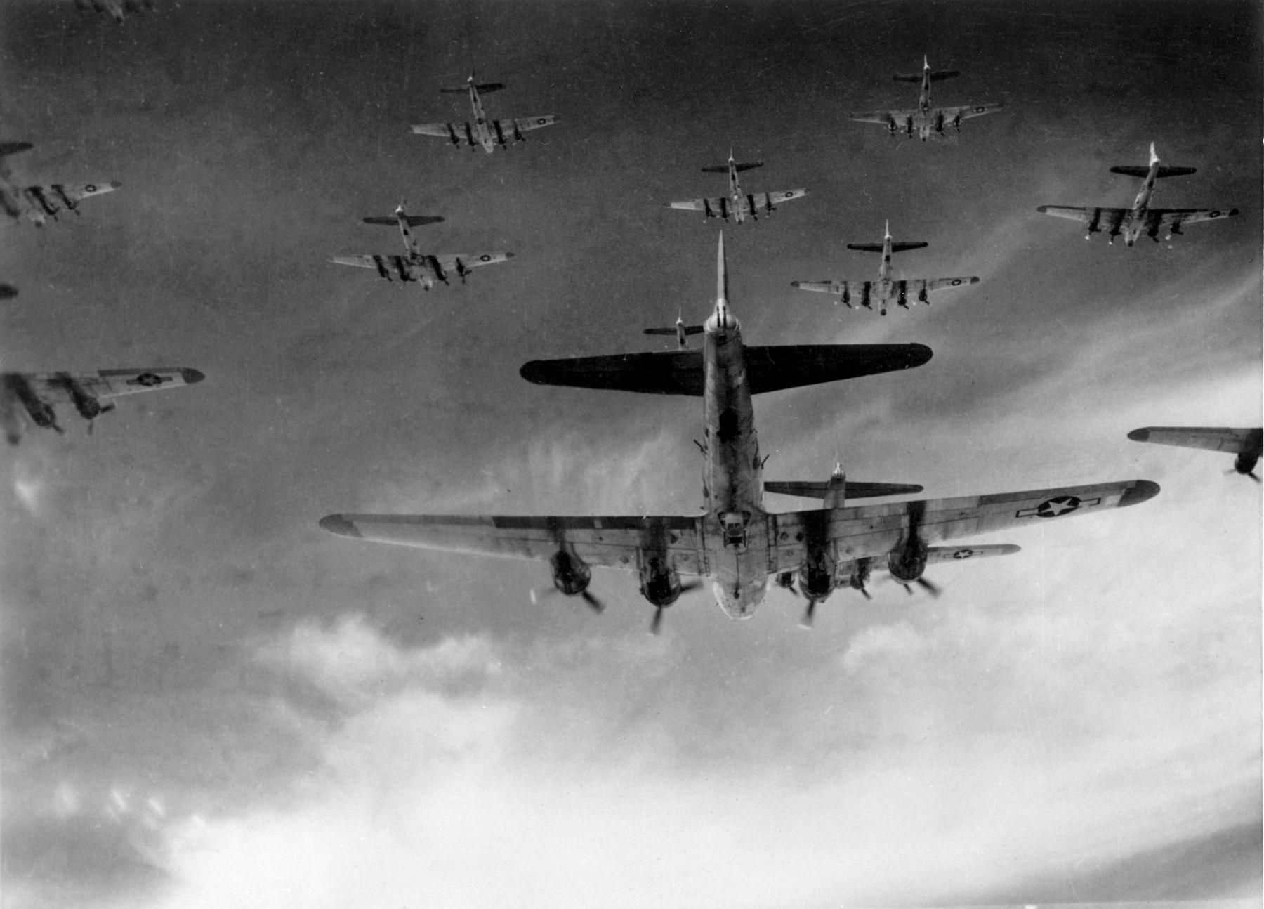 World war ii strategic bombing