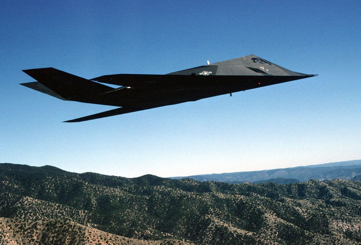 Lockheed F 117 Nighthawk Z Car