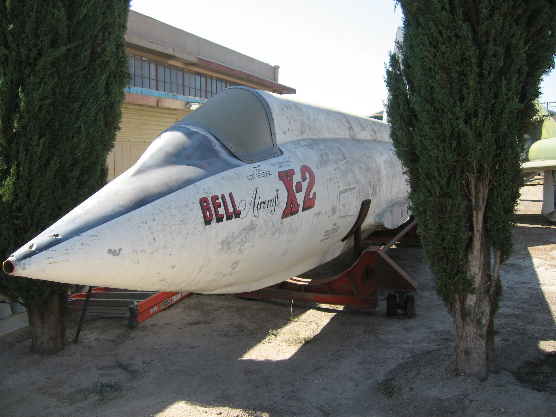Replica Bell  X-2 at Planes of Fame