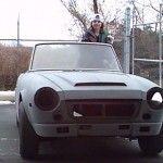 Datsun Roadster Stripped Down