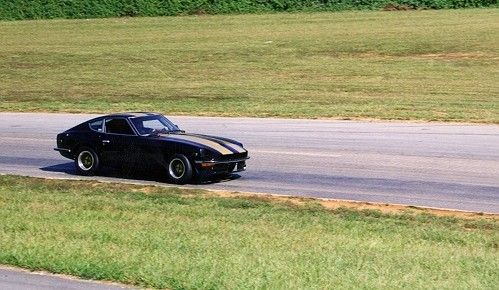 Datsun 240z going Through Turn 10 at Summit Point