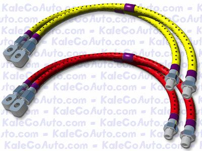 cross drilled brake lines