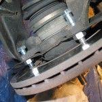 Don't bang your brakes! Remove rusted Brake rotors