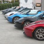 Rainbow of Tesla Roadsters – Pot of Gold at end?