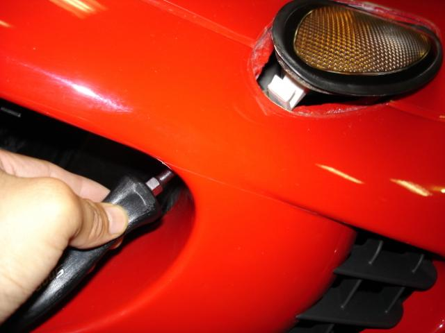 lotus elise turn signal pop out repair