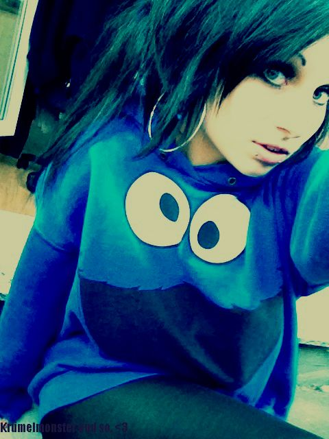 cookie monster girl