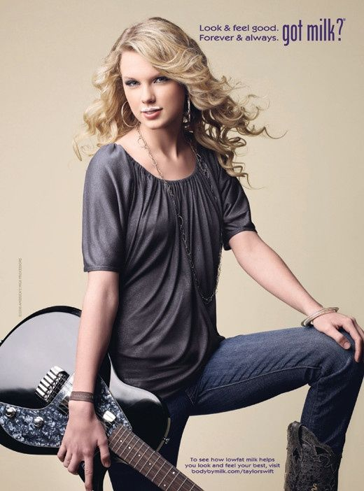 Taylor Swift Got Milk Campaign