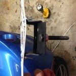 Simple DIY Lotus Elise Front License Plate Bracket