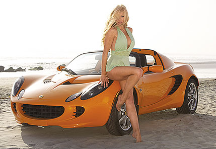 Nikki Ziering on Orange Elise