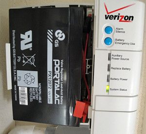 Verizon FIOS Battery Backup