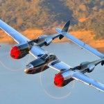 P-38's in Chino at Planes of Fame – Honey Bunny, Glacier Girl, and three others…